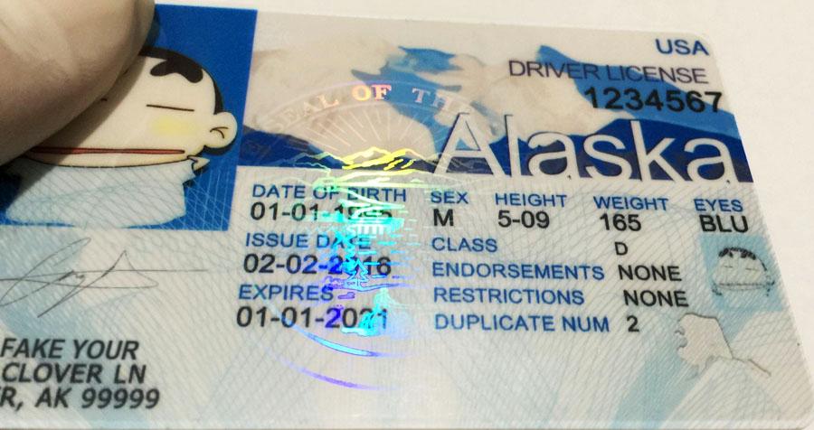 Buy Id We Alaska Fake Make Premium Scannable Ids -