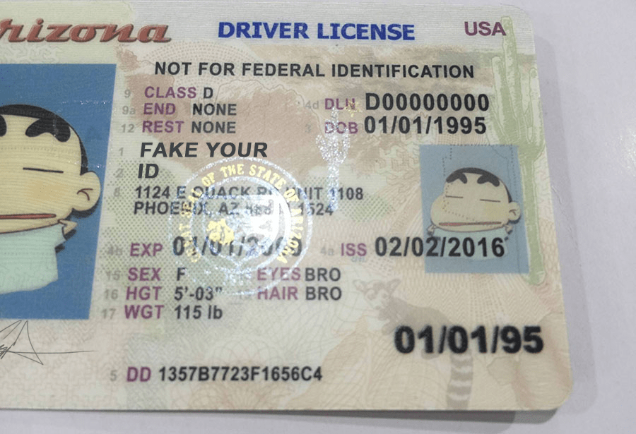 Fake Ids Scannable Id We Arizona - Premium Buy Make