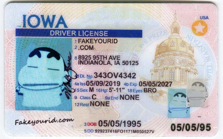 drivers license iowa des moines