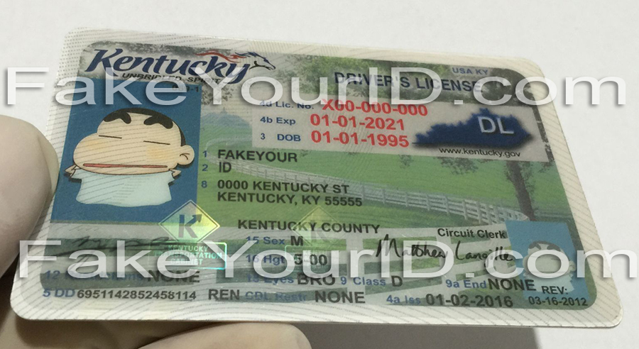Make Id We Kentucky Fake Buy Ids Scannable - Premium