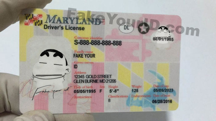 Scannable Id Maryland Fake Premium Buy Make We Ids -