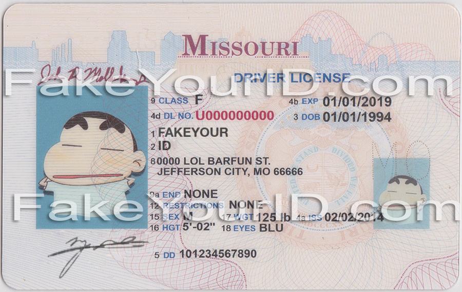 Buy - Id Make Scannable Premium Fake Missouri Ids We