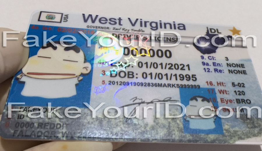 Id Fake West Virginia Ids Make We Buy - Premium Scannable