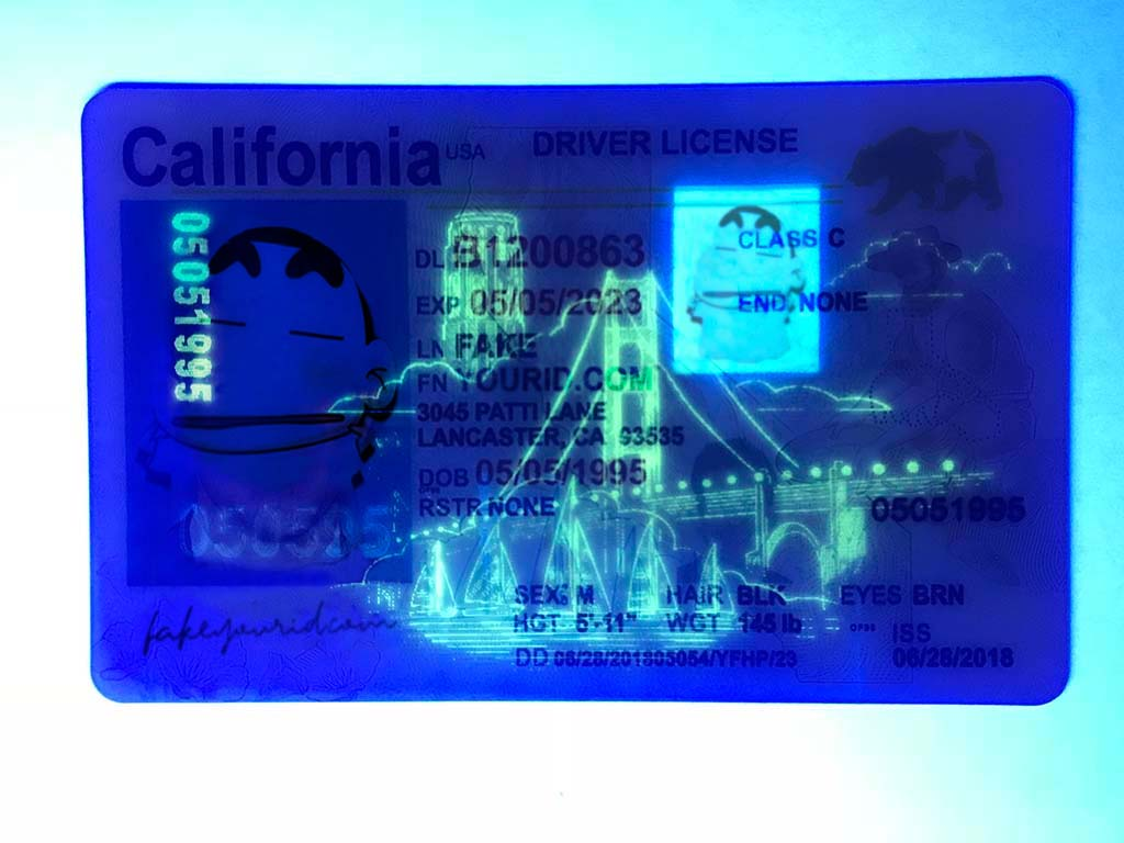 Make We Id California Fake Ids Premium Scannable - Buy