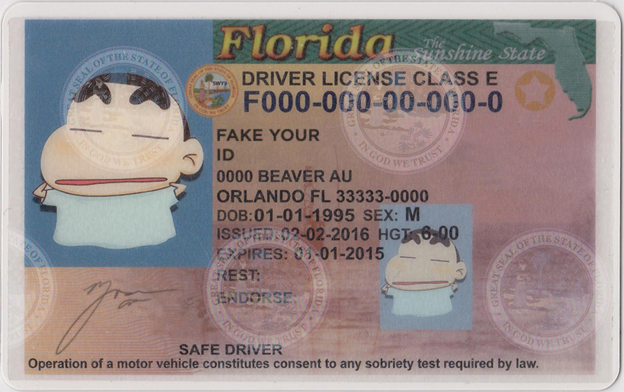 Id We Make Florida Fake Premium Buy Scannable - Ids
