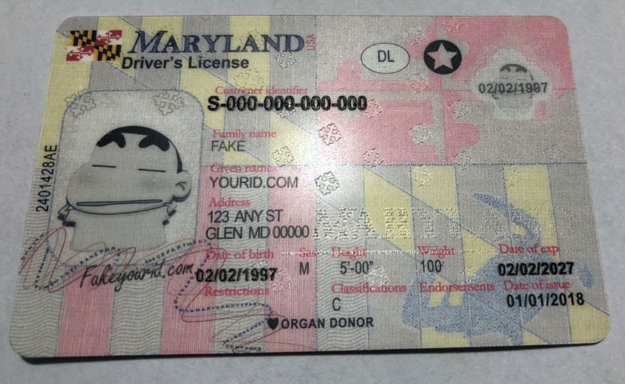 Id Premium Buy Make Ids Maryland Scannable Fake We -