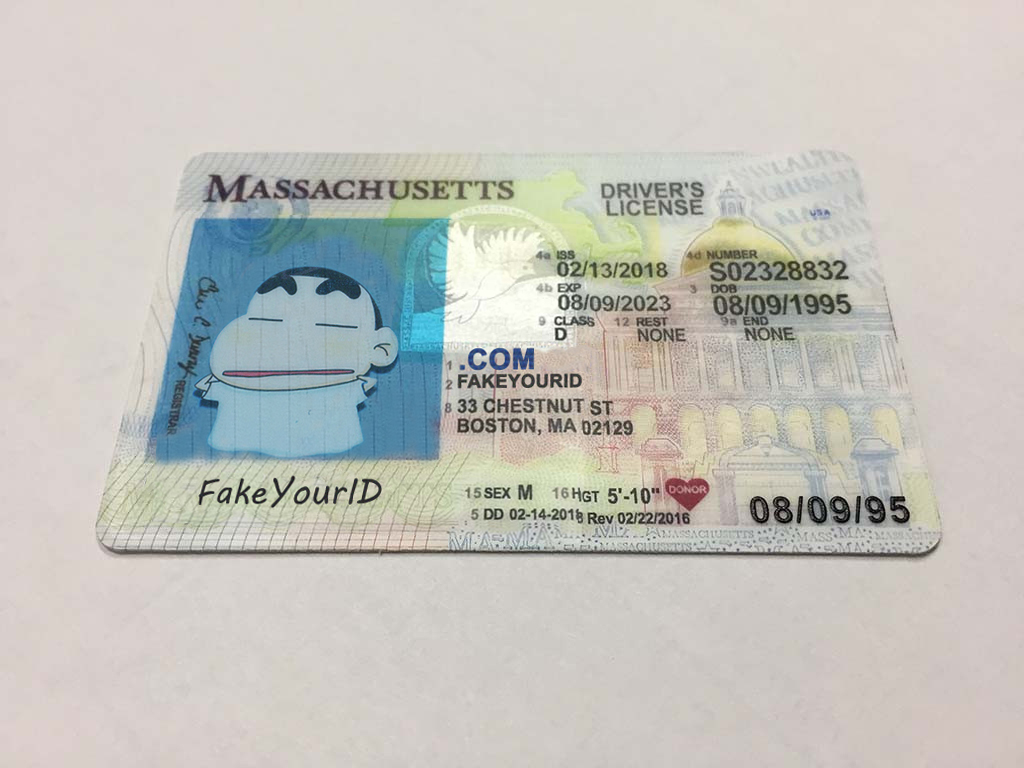 Make Id We Ids Premium Fake Massachusetts Scannable - Buy