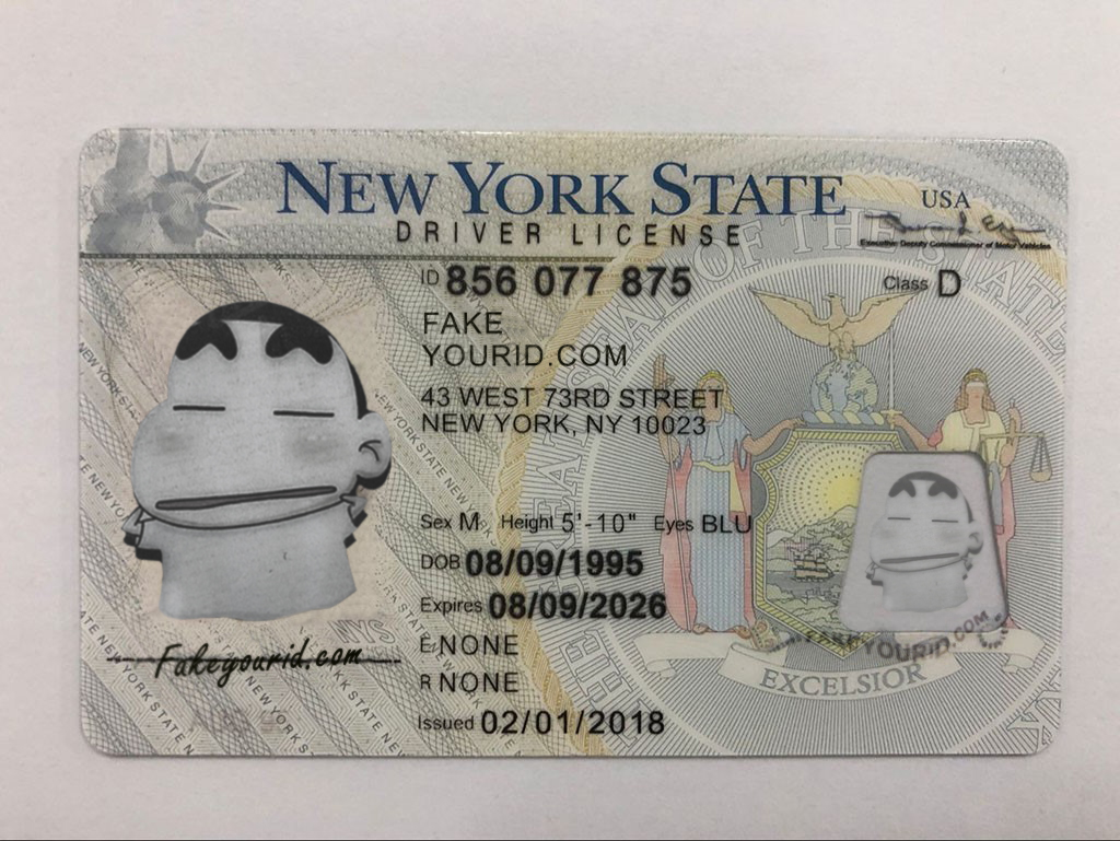 Fake Make Ids New - Id York We Premium Scannable Buy