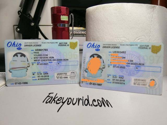 Scannable Ohio Premium Make - We Buy Ids Fake Id