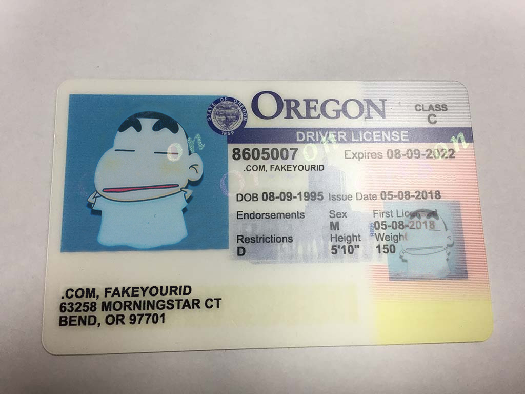 Make Ids We Premium Scannable Id Oregon - Buy Fake