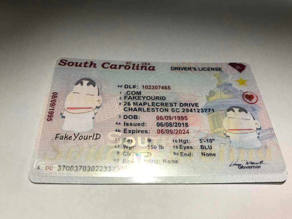 Buy Id Ids - Make South We Carolina Scannable Premium Fake