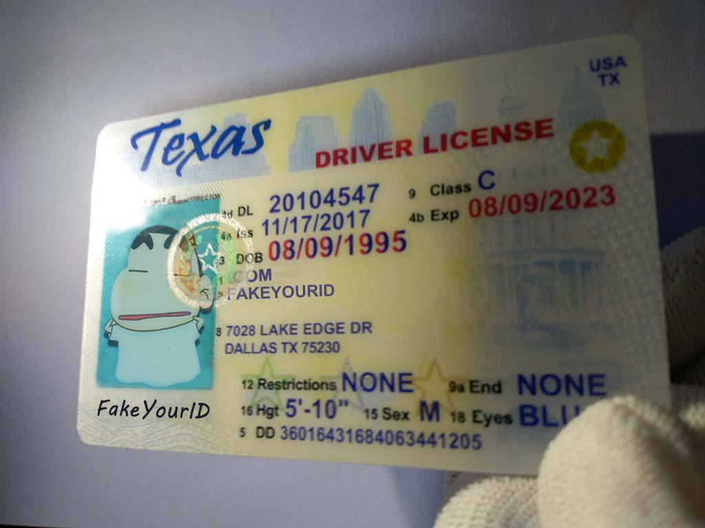 Buy We Texas Ids Premium - Scannable Id Fake Make