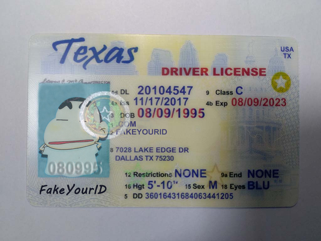 graphic regarding Printable Fake Ids referred to as Texas Identity
