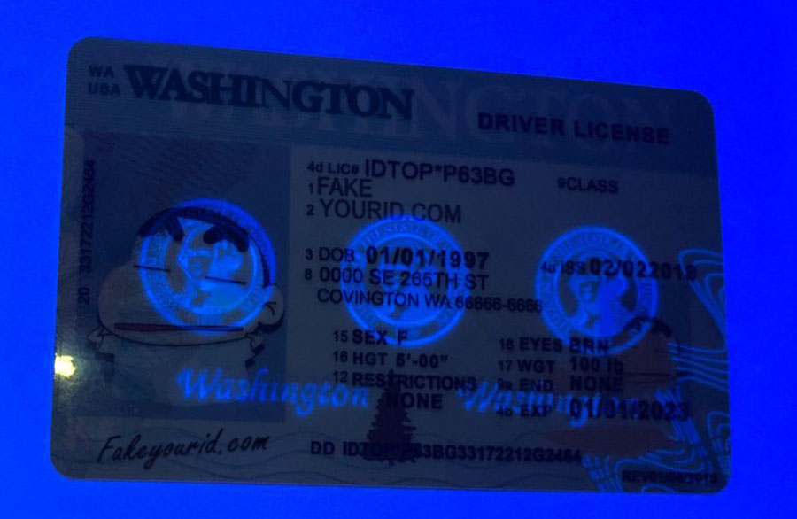 Id We Scannable Premium - Washington Ids Make Buy Fake