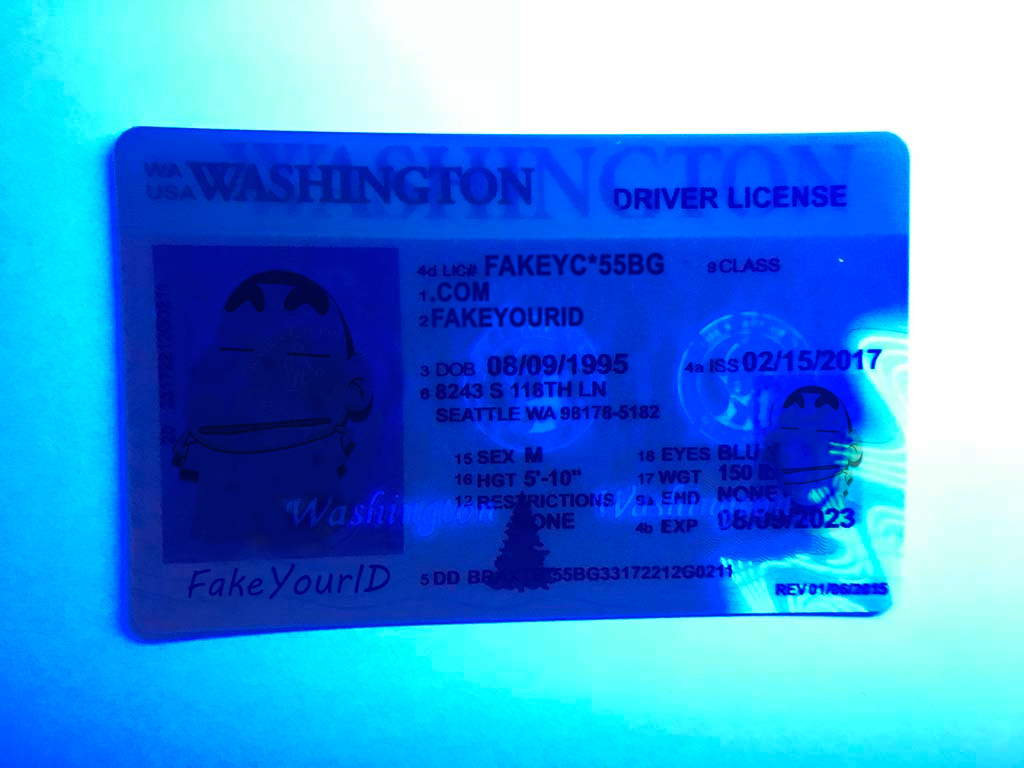 Scannable Buy - Fake Ids Premium We Id Make Washington